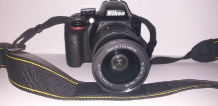Фотоаппарат Nikon D3300 AF-P 18-55mm. Одесса. фото 1