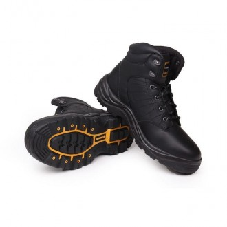 Мужские ботинки Dunlop Dakota Mens Safety Boots черные. Стрый. фото 1