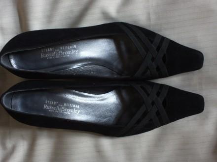 Замшевые туфли Stuart Weitzman 38,5 р.. Черновцы (Винницкая обл.). фото 1