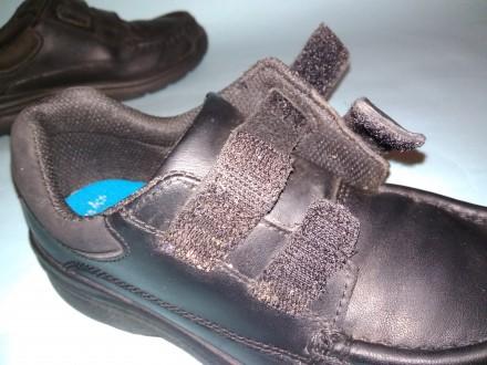 Демисезонные туфли из натуральной кожи от Clarks. Размер EUR 29.5 UK 11.5 US 12. Харків, Харьковская область. фото 10
