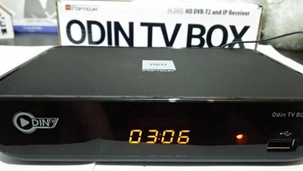 Opticum Odin TV BOX - это цифровой наземный телевизионный приемник DVB-T / DVB-T. Харьков, Харьковская область. фото 3