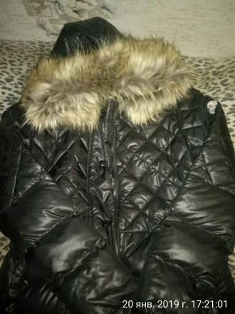 Распродажа! Стеганое пальто на утином пухе.. Запорожье. фото 1