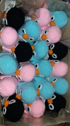 Ручная работа! Пингвины вязаные крючком. Кременчуг. фото 1
