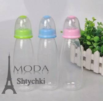 Детская бутылочка с ложечкой для кормления на 240 мл.. Хмельницкий. фото 1