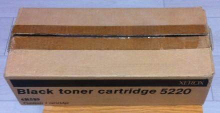 Картридж Xerox black toner cartridge 5220 6R589. Киево-Святошинский. фото 1