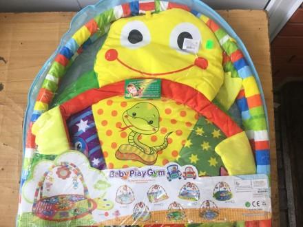 Развивающий коврик для малышей с дугами/Розвиваючий килимок. Чернигов. фото 1