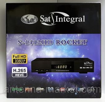 Sat-Integral S-1412 HD ROCKET - легендарный и известный тюнер, который не нуждае. Харьков, Харьковская область. фото 4