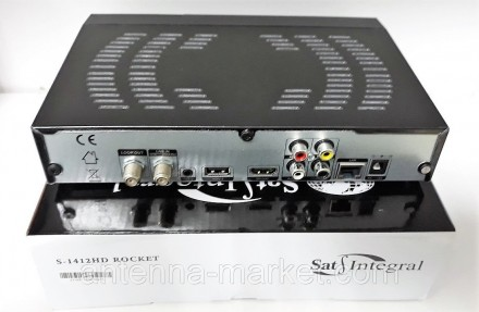 Sat-Integral S-1412 HD ROCKET - легендарный и известный тюнер, который не нуждае. Харьков, Харьковская область. фото 7