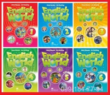 Продам English world 1,2,3,4,5,6 уровни Pupils_Book+workbook.. Харьков. фото 1
