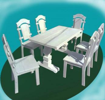 Стіл з кріслами. Львов. фото 1