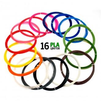 Набор PLA/ПЛА пластик для 3D ручки Ø1.75мм. Харьков. фото 1