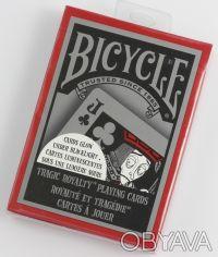 Карты игральные Bicycle Tragic Royalty. Днепр. фото 1
