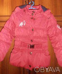 Демисезонная курточка на девочку (пр-во Польша) в очень хорошем состоянии. На би. Кривий Ріг, Дніпропетровська область. фото 2