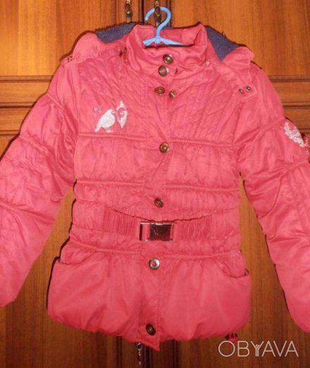 Демисезонная курточка на девочку (пр-во Польша) в очень хорошем состоянии. На би. Кривий Ріг, Дніпропетровська область. фото 1