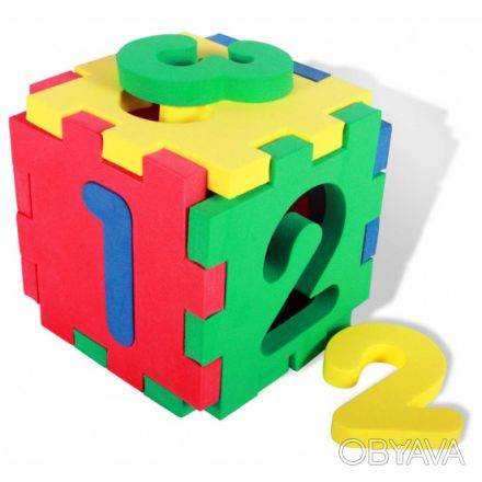 Многофункциональный кубик. Поможет вашему малышу изучить цвета. Цифры легко вк. Киев, Киевская область. фото 1