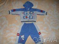 Продам теплый костюмчик для мальчика 6-9 месяцев. Киев. фото 1
