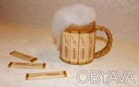 Оригинальные подарки ручной работы. Пивной бокал из конфет. Киев. фото 1