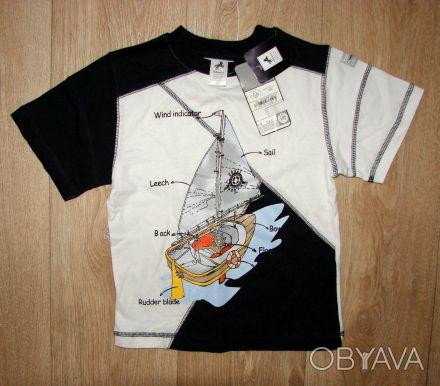 новая футболка Palomino 110 разм., она большемерит.   Отлично на 5-6 лет.  Зам. Киев, Киевская область. фото 1
