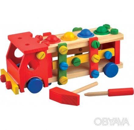Замечательная детская развивающая игрушка. Малыш может забивать разноцветные ша. Киев, Киевская область. фото 1
