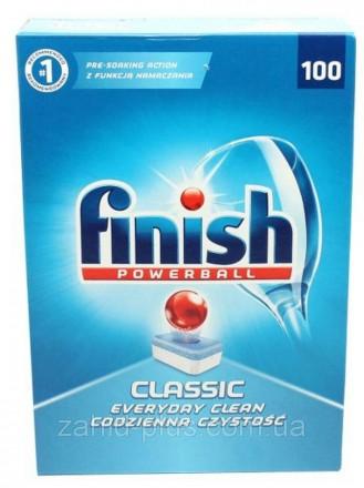 Таблетки для посудомоечной машины Finish Classic 100 шт.. Мукачево. фото 1