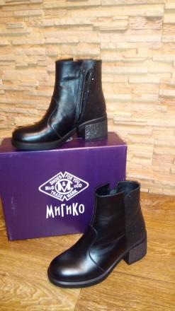 Ботинки женские кожа. Мариуполь. фото 1