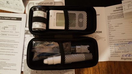 глюкометр Bionime GM550 + 100шт тест-смужок. Винница. фото 1