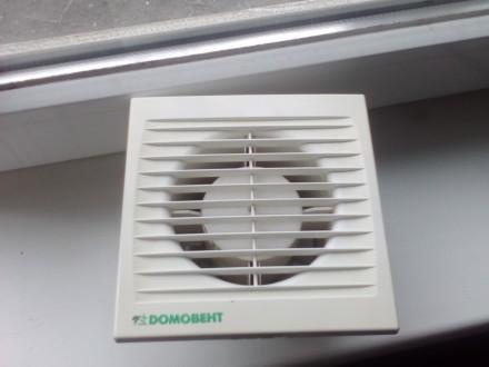 Вытяжной вентилятор Домовент 100СТ. Киев. фото 1