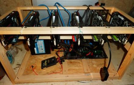 Майнинг ферма Видеокарты 6 RX - 550 sapphire pulse 2gb. Бровары. фото 1