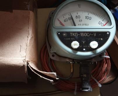 Термометр манометрический ТКП-160Сг-У. Сумы. фото 1