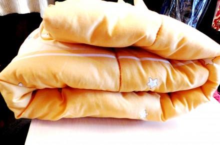 Одеяло детское или матрац с бортиками,очень тёплое.100%шерсть. германия. Ужгород. фото 1