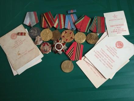 Медали, орден. Запорожье. фото 1