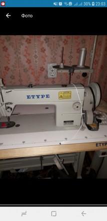 Продам промышленную швейную машинку ETYPE-615. Одеса. фото 1