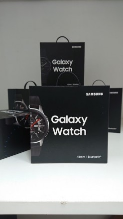 Samsung Galaxy Watch 46mm Silver. Харьков. фото 1