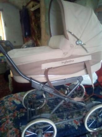 Продам самую надёжную в мире, дтскую коляску инглезина. Запорожье. фото 1