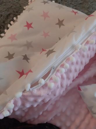 Конверты - пледик (одеяло) плюшевый Minky. Киев. фото 1