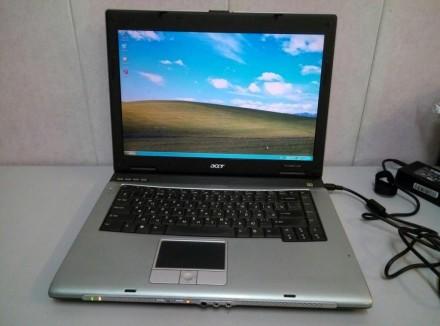 Безотказный двух ядерный офисный ноутбук Acer TravelMate 2480. Киев. фото 1