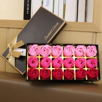 Подарок к 8 марта. Ароматизированное мыло для тела с лепестками роз.. Бердянск. фото 1