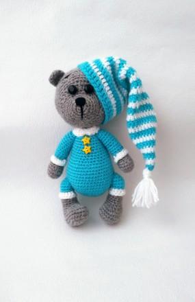 Мягкая детская игрушка Мишка-Сплюшка ручной работы. Славута. фото 1