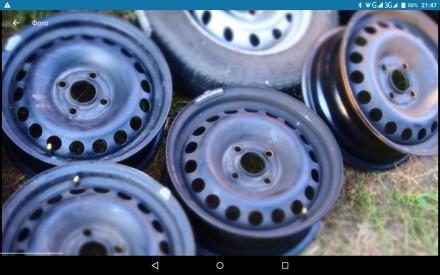 Шины из германии 195 65 на 15 выбор также есть диски всех размеров. Полтава. фото 1
