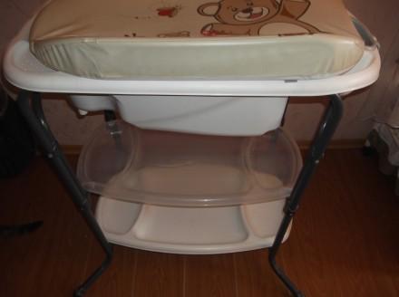 Продам детскую ванночку с пеленатором. Кривой Рог. фото 1