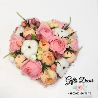 Оригинальный подарок Букет из конфет «Романтика» для самой любимой. Киев. фото 1