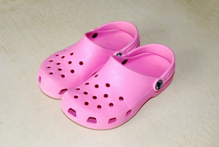 Crocs - чудесные детские шлёпанцы C12/C13 (29-30-й размер, стопа 18,3 см). Львів. фото 1