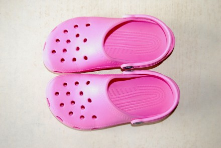 Crocs – чудесные детские шлёпанцы престижного американского бренда, размер C12/C. Львов, Львовская область. фото 3