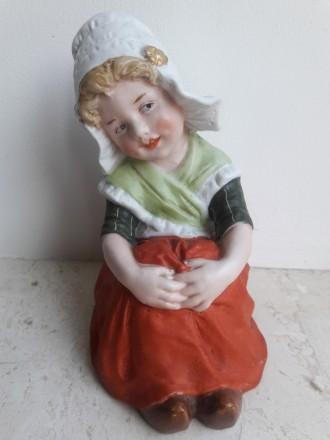 Девочка Gebruder Heubach, братья Хойбах в г. Лихте, Тюрингия, Германия 1882-1915. Львов. фото 1