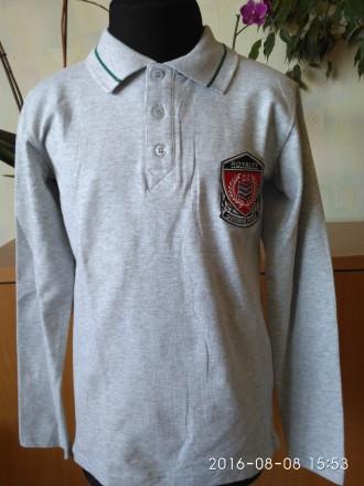 Рубашки, регланы-поло для мальчиков от 134 до 164 размера. Біла Церква. фото 1