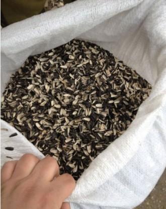 Шелуха, лузга семечки подсолнуха для мульчи, грибов, мешок 50л. Запорожье. фото 1