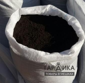 Чернозем плодородный, мешок 40кг. Запорожье. фото 1