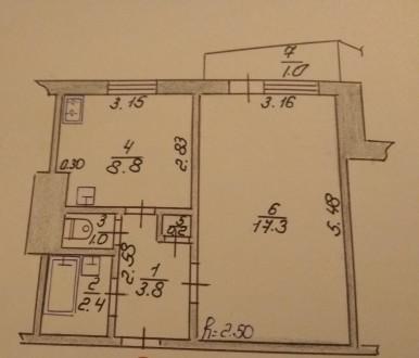 Продам 1-кімнатну квартиру по вулиці Гордіюк. Луцк. фото 1