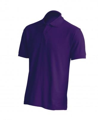 Тенниска-поло фиолетового цвета. Владимир-Волынский. фото 1