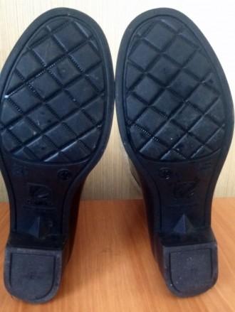 Резиновые сапоги (с утепленным носком) на невысоком удобном каблуке (3 см.),   з. Северодонецк, Луганская область. фото 6